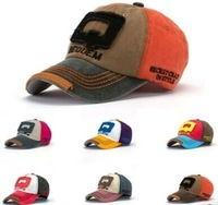 2014 Hat  edition tide men's and women's color matching Q letters plus leather baseball caps wholesale restoring ancient ways