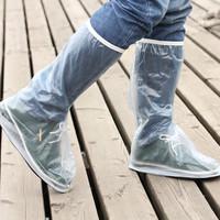 Spring rainboots waterproof rainproof thickening wear-resistant slip-resistant shoes raincoat electric bicycle