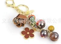 South Korea's creative key chain BaoRui flower pendant accessories