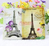 Eiffel tower passport holder passport cover passport bag pvc card holder card case