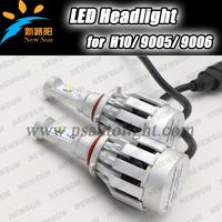 Free shipping 2014 New 2000LM car headlight 20w 2000LM auto LED headlight H10 9005 9006 HB3 HB4 led headlight super bright