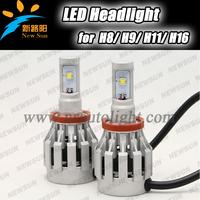 2PCS/set 40W 4000LM 6500K H11 CREE XML-2 Car LED Headlight Lamp Bulb 6500K White led H11 H8 H9 headlight For all Car Auto Trucks