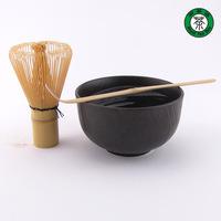 Matcha Tea Gift Set : Matcha Bowl, Chasen and Chashaku Japan Tea Ceremony Teawares TP136