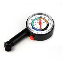 New Auto Motor Car Bike Tire Air Pressure Gauge Dial Meter Vehicle Tester FreeShipping & Wholesales