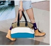 high quality Fashion Messenger Bags Canvas Super patchwork canvas bag Shopping Tote Handbag Casual Shoulder Bag