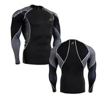 2014 Men New Skin Tight Shirts,Life On Track Brand Compression Sports underwear shirt free shipping