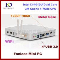 Kingdel New Mini pc  workstation desktop pc with Intel Core i3-3217U 1.8Ghz HDMI VGA 4*USB 3.0 Wifi 11 support 2G RAM 16GB SSD