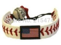 American flag baseball bracelet,national flag headbands