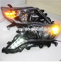 For Toyota Prado 2014 led Headlight OEM style