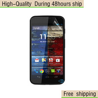 High Quality Clear Screen Protector Film For Motorola MOTO X Phone XT1055 XT1058 XT1060 Free Shipping DHL UPS EMS HKPAM CPAM