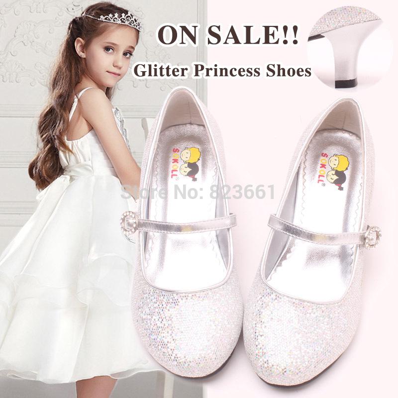 Vente chaude enfants chaussures de haut talon chaussures de mariage en    High Heels Shoes For Kids Size 13