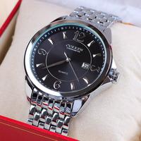 Curren 8071 High Quality  Men Watch Luxury Stainless Steel Quartz Watch Men's WristWatches with Calendar 1piece/lot BW-SB-773