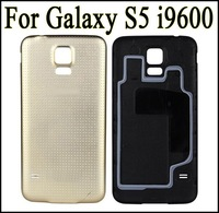 S5 Back Replacement Battery Door Back Cover with Rubber Seal Waterproof Gasket For Samsung Galaxy S5 I9600 Black White Blue Gold