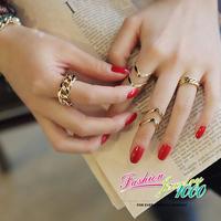 Vintage Designer Fashion 3pcs Fashion Ring Set Jewelry For Women Free Shipping