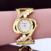 Bracelet watches Brand CanSnow Hollow out Bracelet Luxury Ladies wristwatches Fashion women Casual quartz watches atmos clock