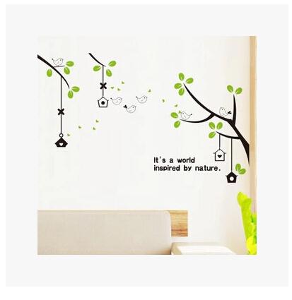 Online kopen wholesale groene boom sticker uit china groene boom sticker groothandel - Gratis huis deco magazine ...