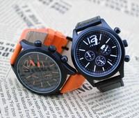 2014 Men Sports Watches Luxury Brand  Sinobi leather strap  Men Quartz Military Watch Watches Relogio  Men Sports Clock