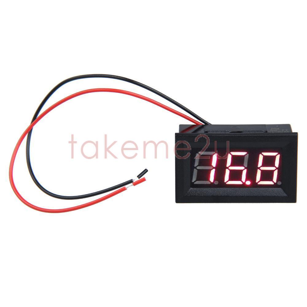 Вольтметр 0,56 LCD 3.2/30