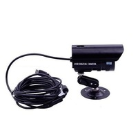 Plug And Play USB Night Vision Indoor/Outdoor security CMOS IR surveillance CCTV Camera  Digital IR Video  Waterproof