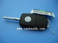 Flip Remote Key Case for VOLKSWAGEN VW Passat Golf Beetle GTI Rabbit 2 Button