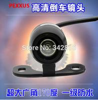 2014 new model    Waterproof HD CCD 170 Degree MINI Car Rear View Reversing Camera   free shipping