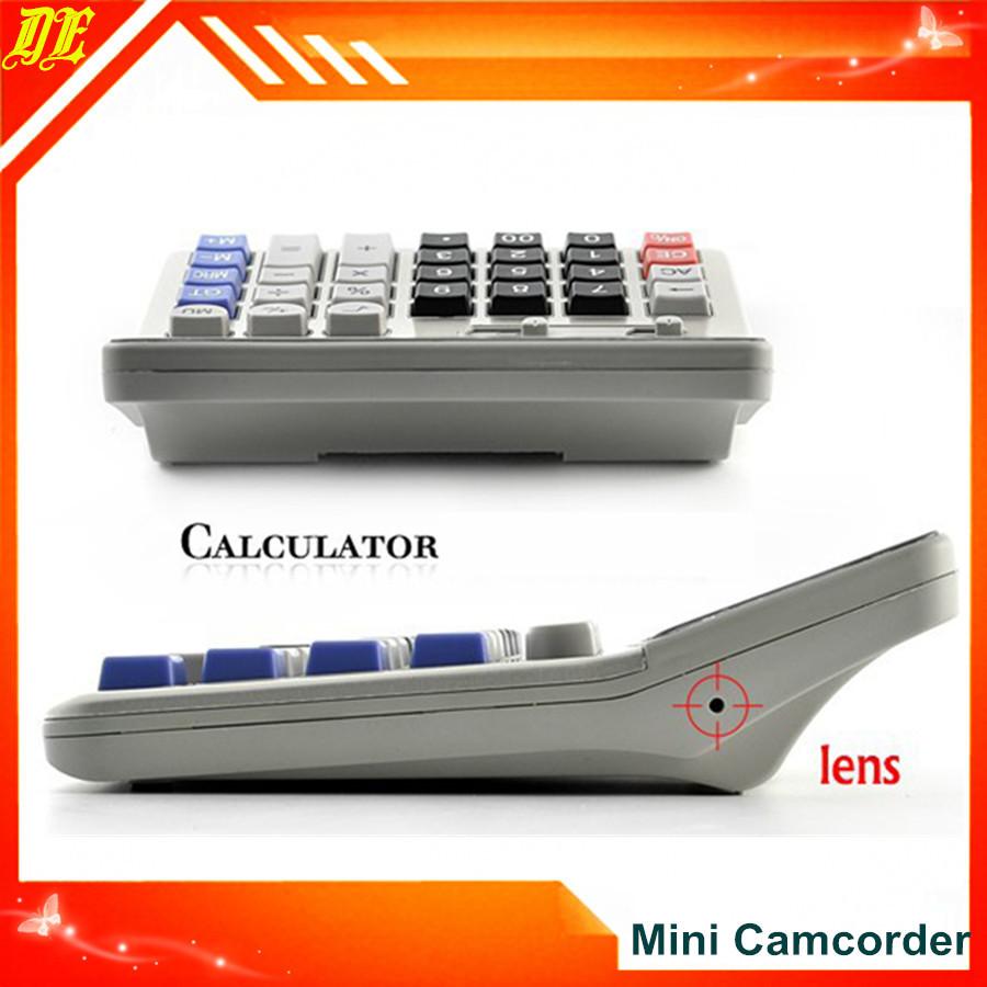 New 4GB Real Office Business Calculator Hidden Pinhole Hidden Camera DVR Video Recorder Mini Camcorder(China (Mainland))