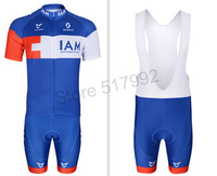 NEW! 2014 IAM Team cycling jersey/ cycling clothing/ cycling wear short bib suit-IAM-1B maillot ciclismo Free Shipping