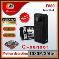 "Original Novatek F880 Car DVR Full HD 1920x1080P 2.0"" LCD 5MP CMOS G-Sensor IR Night Vision 120 Degree View Angle Video Recorder"