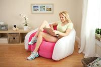 INTEX 68571 modern inflatable sofa set living room furniture bean bag sofa,include foot pump and repair patch