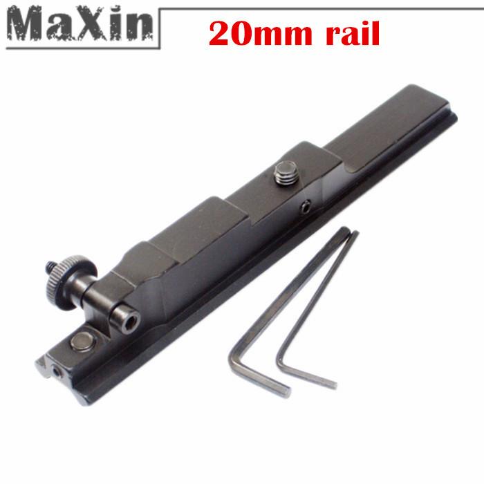 5 шт/много picatinny 20 мм железнодорожных