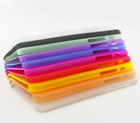 New! Factory Price 0.3mm Ultra Thin Case Cover for iPhone6 Plastic Back Matte Cases PP Phone Housing 10 Color Available
