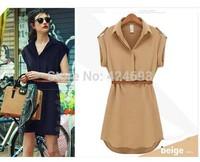 2014 New Arrival summer  women fashion   Summer Dress Ruffles Dresses  Free Shipping