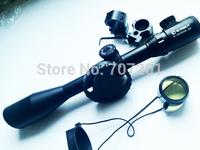 BARSKA 6-24x50SF 3nd Generation Sniper Spirit Level Bubble Blue IR Mil-dot Reticle Riflescope with mount