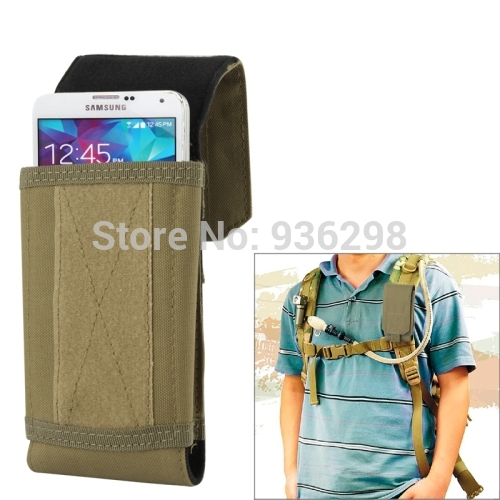 Multicolor Stylish Outdoor Waterproof Fabric Cell Phone Bag Case, Size: approx. 17cm x 8.3cm x 3.5cm(China (Mainland))