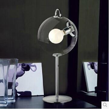 Hohe qualität und mode neuheit schreibtischlampe seifenblase lampe italienisch designer funktioniert e27 Ports mit Schalter-Design