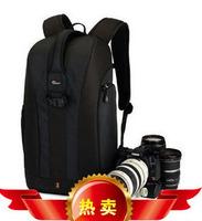 Black Lowepro Flipside 300 Photo Bag Digital SLR Camera Backpack&Rain Cover