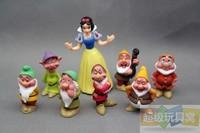 8pcs/set Princess Snow white and the Seven Dwarfs PVC Action Figures Dolls Toys