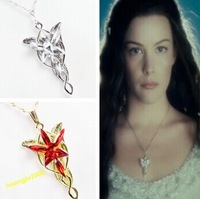 "N135 Free Shipping!Hot Film ""Lord Of The Ring ""Arwen Evenstar Stylish Vintage Silver Pendant (min order $10 mixed )"