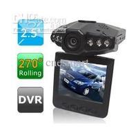 2.5 inch HD Car DVR IR Vehicle Road Dash Video Camera Recorder Traffic Dashboard Camcorder - LCD 270 degrees whirl
