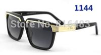New Fashion Designer Cazal 650 Brand women men Sunglasses Vintage eyewear vogue Best quality glasses trend 14cols free shipping