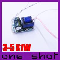 [500pcs] (Budget Series)Wholesale 300mA 3X1W 4X1W 5X1W LED Driver Lighting Transformer