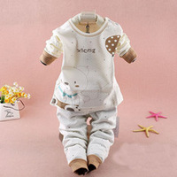 New 2014 Newborn baby clothing set high quality baby underwear long sleeve for children newborn baby clothes 0 3 months