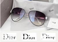 Free shipping 2014 new fashion DI*R women sunglasses High-end sunglasses Uv protection sunglasses ZB
