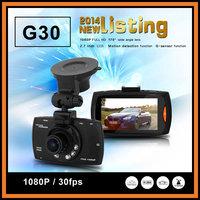Original Novatek NTK96650 G30 Car DVR Full HD 1080P 30fps AR0330 Sensor G-Sensor Night Vision 170 Degree Angle Lens Recorder