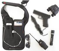 Men FBI Messenger Bags Hidden Underarm Shoulder Armpit Bag  Phone Pouch Burglarproof Anti Theft Waist Bag