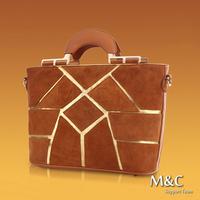 Hot New 2014 Fashion Women Genuine Leather Handbags Famous Brand Cowhide Handbag Transformers Women Handbags Lady Purse SD-106