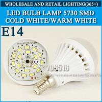 10pcs/lot LED bulb lamp bulbs led lights E14 3W 5W 7W 9W 5730SMD Cold white/warm white AC220V 230V 240V Free shipping