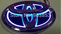 2014 New Arrival,5D Aurora car logo light for Toyota RAV4 REIZ 10.0*6.8CM