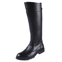 Male boots police boots riding  high-leg world war ii field  equestrian man tall boots(China (Mainland))
