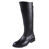 Male boots police boots riding  high-leg world war ii field  equestrian man tall boots